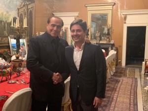 Silvio Berlusconi e Michele Vitiello